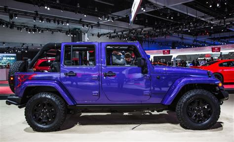 purple jeep renegade image gallery jeep auto show 2016
