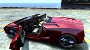 gta 4 lamborghini gallardo crash test hd