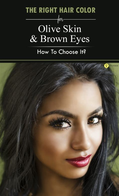 how to choose the best brunette hair color beauty tips hair the gallery for gt olive skin grey eyes of olive skin tone