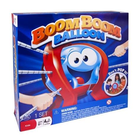 Boom Boom Ballon bring the family together with spin master