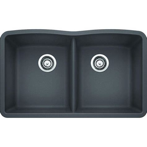 granite undermount kitchen sinks bowl blanco undermount granite composite 32 in equal