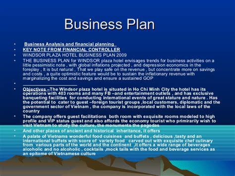sle business plan resort presentation1 asset management business plan