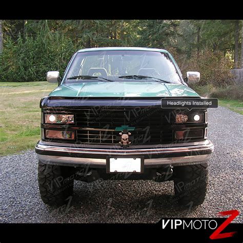 1998 gmc chevy c k 1500 2500 3500 truck tahoe suburban yukon service manual repair set factory 1994 1998 chevy c k pickup 1500 2500 3500 black projector led headlights 6pc set ebay