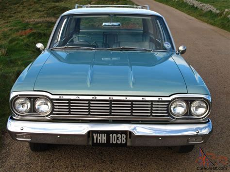 green rambler amc rambler 770 cross country station wagon 1964 in excellent