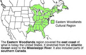 map of the woodlands eastern woodland indian tribes quotes