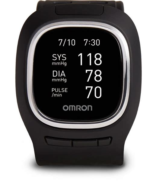 Omron Project Zero BP6000 is Both a Blood Pressure Monitor and a Smartwatch