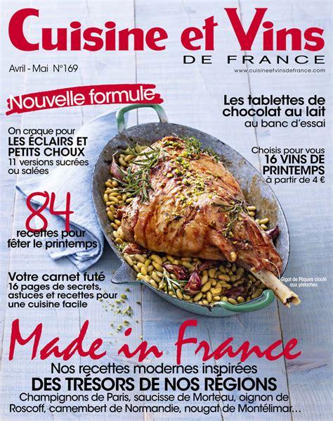 cuisine et vins de magazine cuisine et vins la presse cuisine et vins de parle