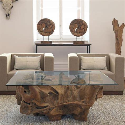 Meuble Bois Massif Brut meubles en bois massif fossilis 233 de design organique unique