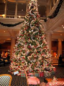 in toronto the lobby was beautifully decorated for