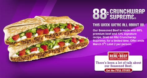 taco bell 20 dollar challenge 88 crunchwrap supreme at taco bell fabulessly frugal