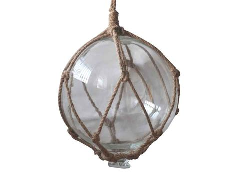 japanese glass buy clear japanese glass ball fishing float with brown netting