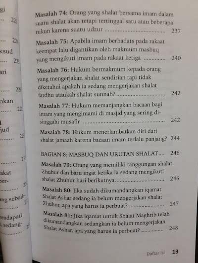 Vcd Sifat Shalat Nabi Edisi Kartun buku fikih masbuq 123 masalah seputar hukum masbuq shalat