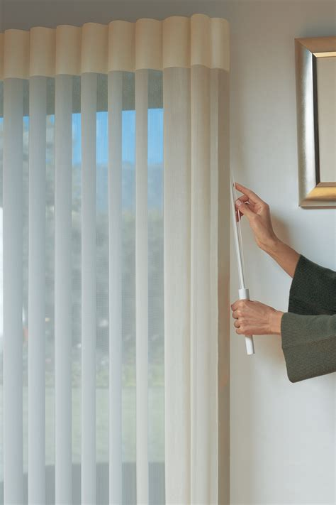 Douglas Vertical Blinds Douglas Luminette 174 Privacy Sheers In Worcester Ma