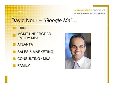 Emory Mba Healthcare Consulting Salary by David Nour Relationship Economics And Social Networking