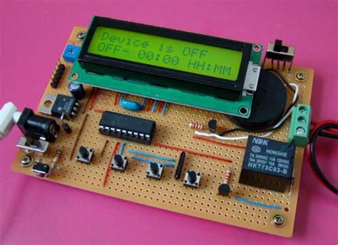 Harga Make Di Counter programmable digital timer switch using a pic microcontroller