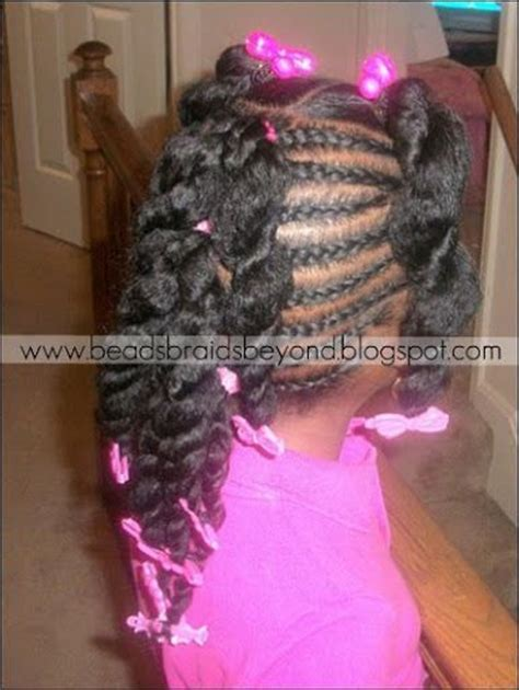 plat braid styles beads braids and beyond plats little girl hairstyles