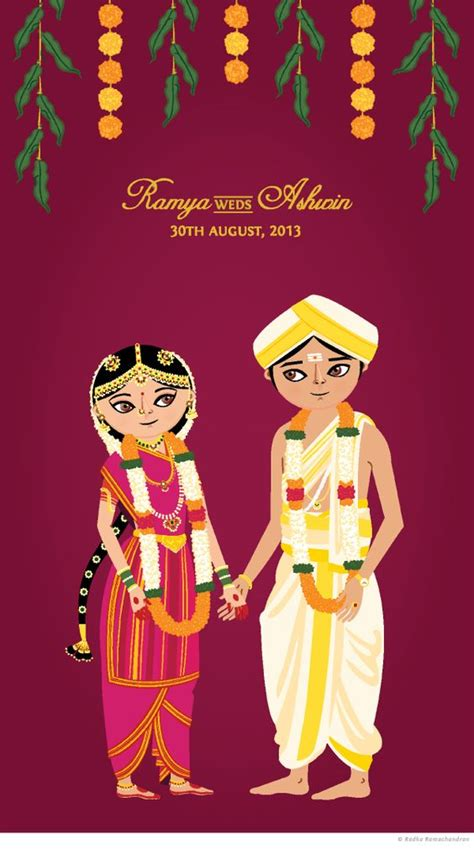 Indian Wedding Animation by 8 Cuuute Quot Wedding Invites Quot For The Cutie Pie