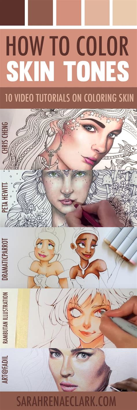 colored pencil skin tones how to color skin tones 10 tutorials on skin