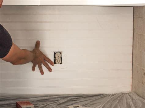 horizontal beadboard how to cover an tile backsplash with beadboard how