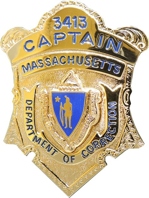 massachusetts department  corrections custom shield