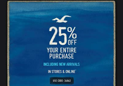 hollister outlet printable coupons 25 off hollister promo code free shipping on 75 orders