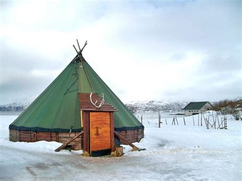 Tent Houses traditional sami lavvu tent picture of tromso