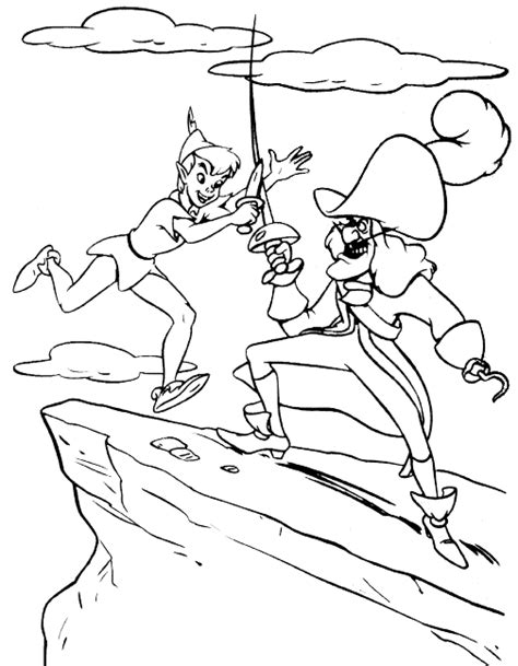 peter pan coloring pages coloring pages to print