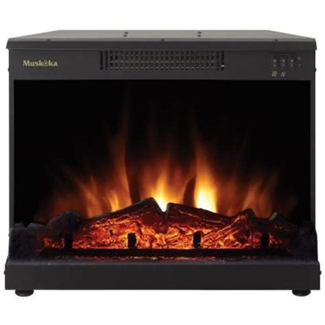masonry 24 in electric fireplace insert mfi2500 the