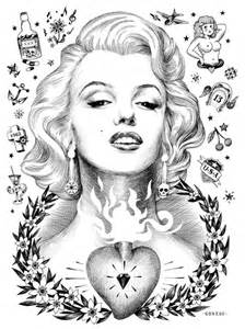 Marilyn Monroe Coloring Pages Marilyn Coloring Pages