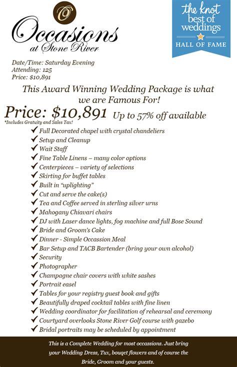 wedding packages cost dallas wedding venue reception affordable wedding venue