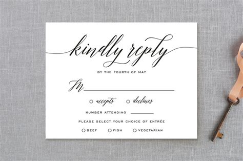 Wedding Invitations Rsvp by Wedding Rsvp Etiquette 9 Tips All Brides Should