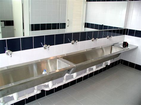 stainless steel commercial wash sinks stainless steel bathroom sinks for commercial areas home