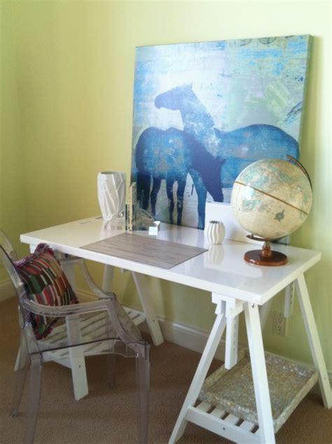horse desk contemporary girls room benjamin