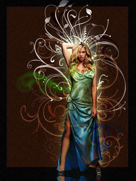 tutorial photoshop cs3 lighting add fancy swirls and lighting to your photos