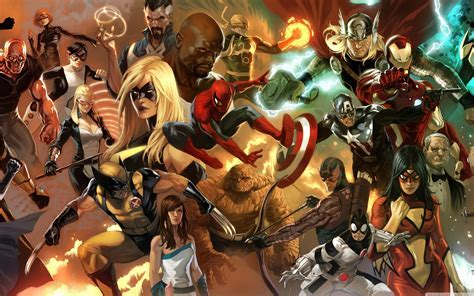 Android Wallpaper: Avengers Assemble!