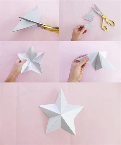 Folded Paper L - tuto guirlande origami etoile
