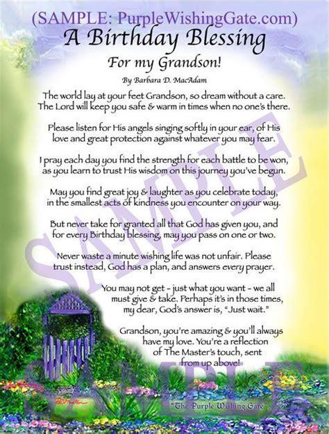 A Birthday Blessing for my Grandson   Prayers   Wedding