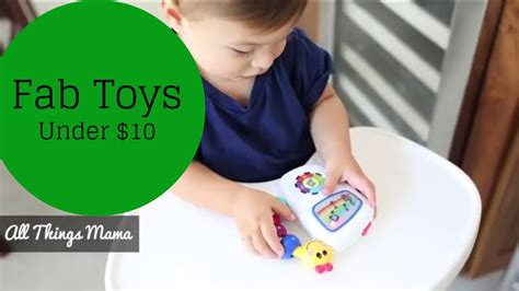 toys under 10 fab toys under 10 that fit in your diaper bag youtube