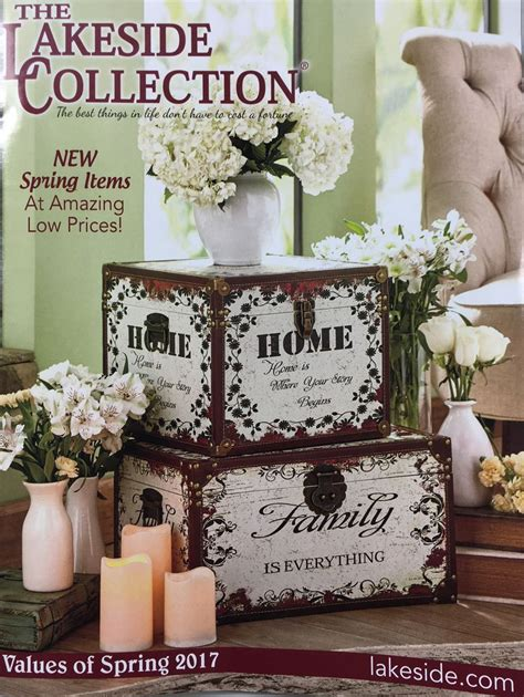 home decor gift catalogs request a free the lakeside collection catalog