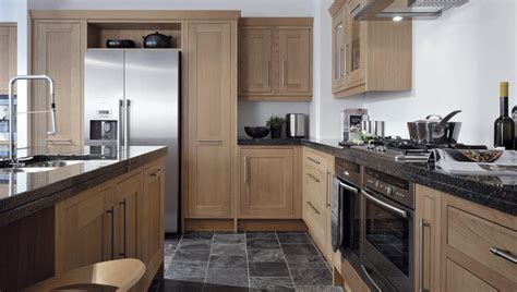 Oak Effect Kitchen Cabinets Milbourne Oak Classic Collection As Kitchens Ltd