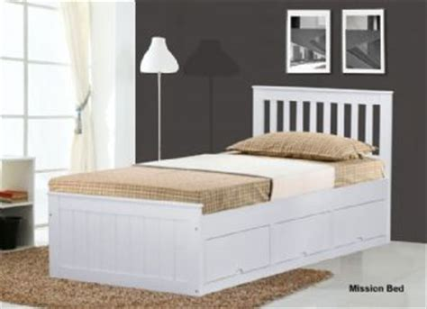 single bed headboards white wood white mission children s 3ft single wooden bed with 3