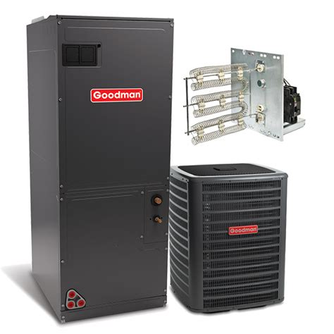 Ac Electric Air goodman 3 0 ton 16 seer single stage air conditioning