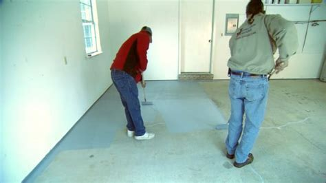 How to Apply an Epoxy Coating to a Garage Floor   Today's
