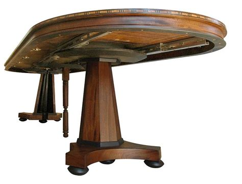 Expanding Tables by Dining Table Round Expanding Dining Table