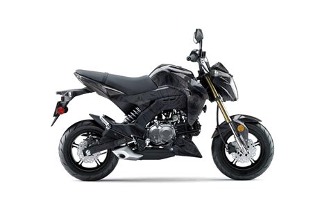 black motocross bike kawasaki z125 pro dirt bike graphics death dealer black