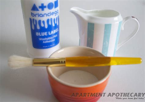 Pva Glue For Decoupage - decoupage apartment apothecary