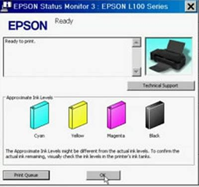 wic reset utility epson l110 epson l110 l210 l300 l350 and l355 ink level reset