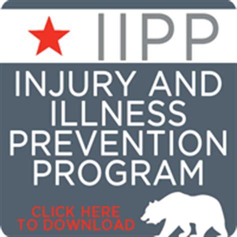 Injury And Illness Prevention Program Osha Injury And Illness Prevention Program Template