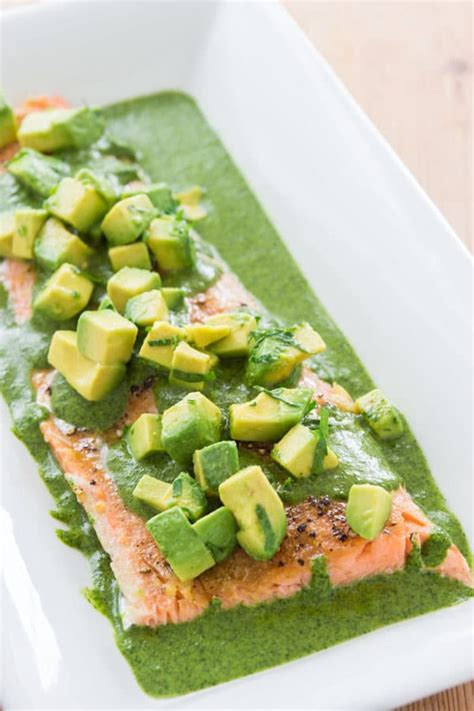 poached salmon recipes poached salmon recipe with salsa verde delicious techniques