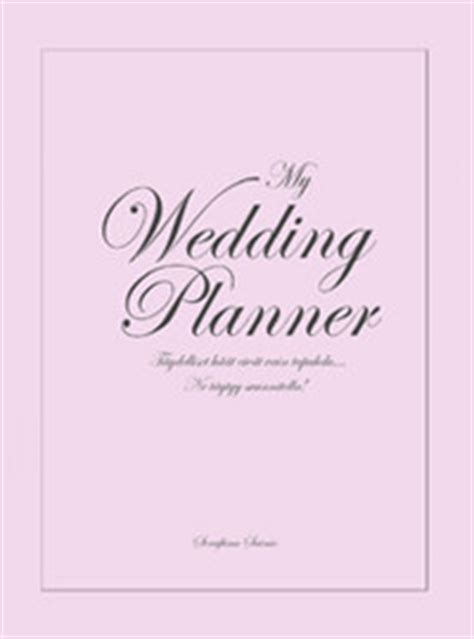 Wedding Planning Book Cover by Serahvi Crafts